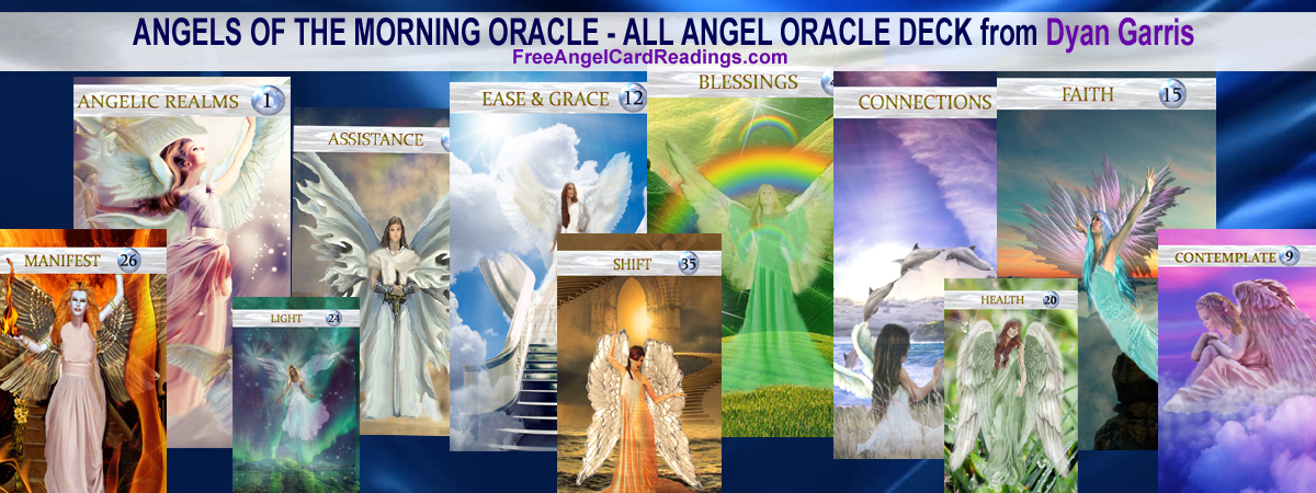 angels of the morning oracle deck BANNER